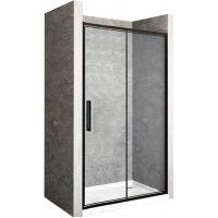 Rea Rapid Fold drzwi prysznicowe 80 cm profile czarne REA-K6418