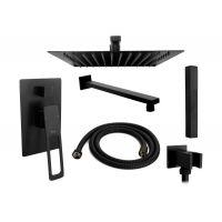 Rea Soho zestaw prysznicowy podtynkowy czarny REA-P5632