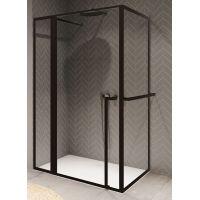 Riho Lucid GD203 kabina prysznicowa 130x90 cm czarne/szkło przezroczyste GD213B090