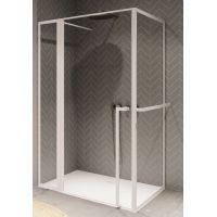 Riho Lucid GD203 kabina prysznicowa 130x90 cm białe/szkło przezroczyste GD213W090