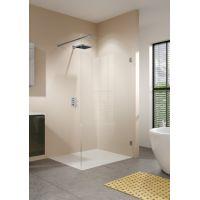 Riho Scandic Soft Q400 ścianka prysznicowa walk in 160 cm szkło czyste GQ54200