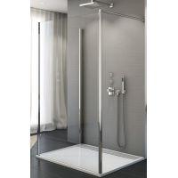 SanSwiss Fun 90° ścianka prysznicowa 70 cm dodatkowa chrom/szkło przezroczyste FUDT07005007