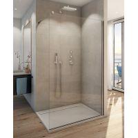 SanSwiss Easy ścianka prysznicowa Walk-In 120 cm wolnostojąca szkło przezroczyste STR4P1205007