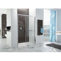 Sanplast Free Zone drzwi prysznicowe 110 cm wnękowe prawe D2P/FREEZONE-110 szkło przezroczyste 600-271-3140-38-401