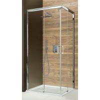 Sanplast Free Zone KN/FREEZONE kabina prysznicowa 90 cm kwadratowa szkło Sitodruk W15 600-271-3510-38-231