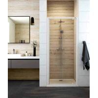Sanplast Basic DJ/BASIC drzwi prysznicowe 80 cm szkło przezroczyste 600-450-1030-01-400