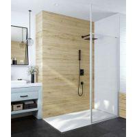 Sanplast Basic P/BASIC ścianka prysznicowa 110 cm Walk-In szkło przezroczyste 600-450-2150-01-400