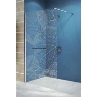 Sanplast Free Line II Walk-in ścianka wolnostojąca 100 cm P/FREEII-100 600-261-0440-42-401
