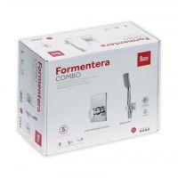 Teka Formentera zestaw Combo Box z baterią prysznicową podtynkową chrom 622420220