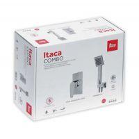 Teka Itaca zestaw Combo Box z baterią prysznicową podtynkową chrom 672420220