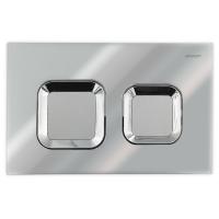 Bravat BVT-Z przycisk spłukujący do WC chrom/satyna BVT-Z/CHRS