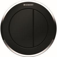 Geberit Typ10 przycisk spłukujący WC czarny 116.055.KM.1