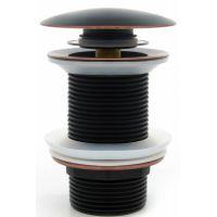Rea korek do umywalki klik-klak czarny REA-A0080