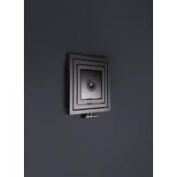 Enix Libra Audio (LA) grzejnik z głośnikiem 60x60 cm grafit strukturalny LA0060006001410E1000