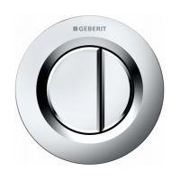 Geberit Typ01 przycisk spłukujący pneumatyczny chrom matowy 116.042.46.1