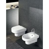 Hatria Daytime miska WC wisząca biała YXV501