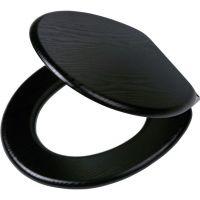 Tiger Blackwash deska sedesowa wolnoopadająca czarna 252030746