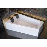 Besco Intima Duo wanna narożna 180x125 cm asymetryczna lewa biała #WAID-180-NL