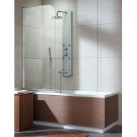 Radaway Eos PNJ parawan nawannowy 50 cm lewy szkło przezroczyste 205102-101L