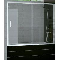 SanSwiss TOP-Line parawan nawannowy 160x150 cm srebrny połysk/szkło przezroczyste TOPB216005007