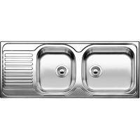 Blanco Tipo XL 9 S zlewozmywak stalowy 121x50 cm stal matowa 511927