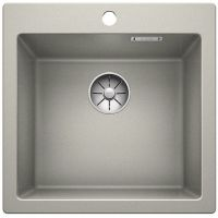 Blanco Pleon 5 zlewozmywak 51,5x51 cm z Silgranit PuraDur perłowoszary 521671