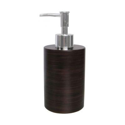Awd Interior Etnic dozownik do mydła stojący brązowy AWD02190746