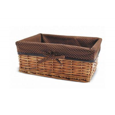Awd Interior Stuff koszyk wiklinowy brązowy AWD02240873