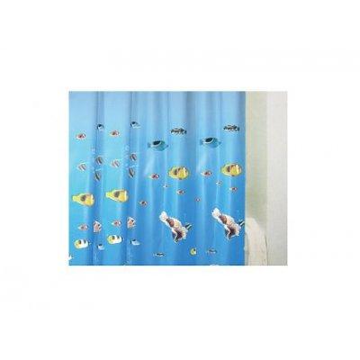 Bisk Sea Horse zasłonka prysznicowa 180x200 cm 00074