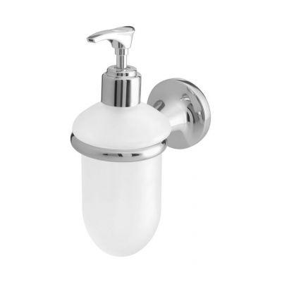 Bisk Ontario dozownik do mydła z uchwytem chrom 00209