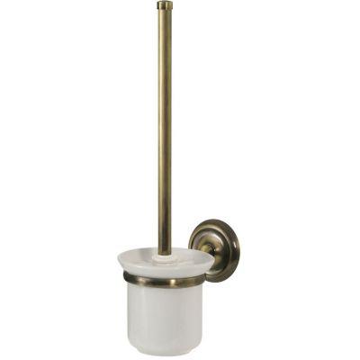 Bisk Deco szczotka do WC z uchwytem mosiądz 00412