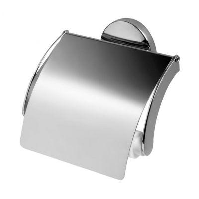 Bisk Chroma uchwyt WC z klapką chrom 01425