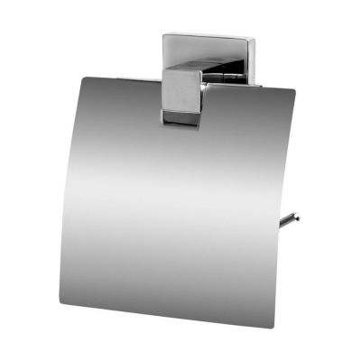 Bisk Arktic uchwyt WC z klapką chrom 01473
