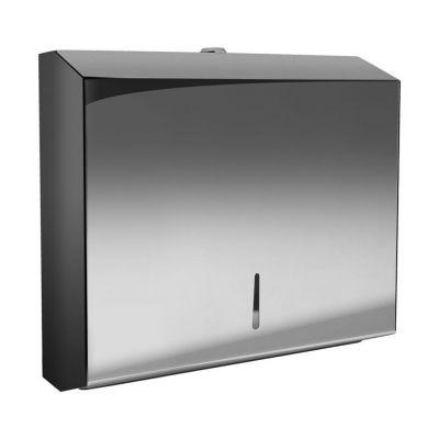 Bisk Masterline podajnik na listkowe ręczniki papierowe PL-S2 chrom 01571
