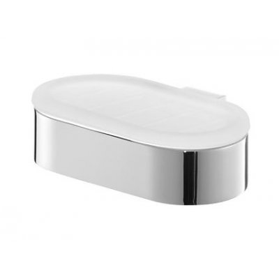 Bisk Futura silver mydelniczka chrom 02982