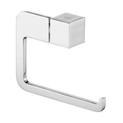 Bisk Futura silver uchwyt WC prosty chrom 02990