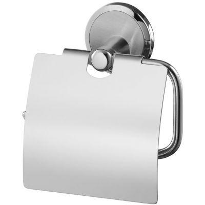 Bisk Sensation uchwyt WC z klapką chrom 03090