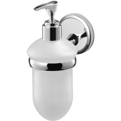 Bisk Seduction dozownik do mydła z uchwytem chrom 03579