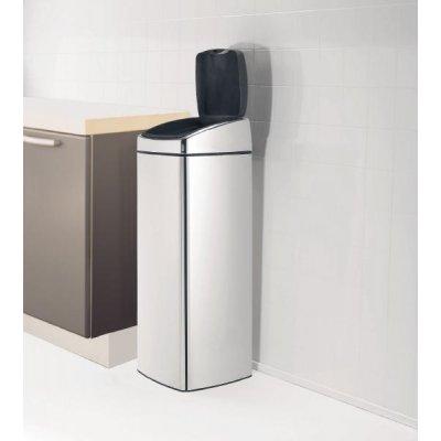 Brabantia touch bin kosz prostokątny 25L 415906