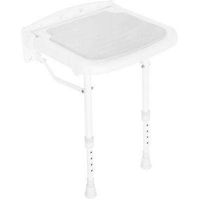 Deante Vital siedzisko prysznicowe dla niepełnosprawnych z nóżkami NIV651E
