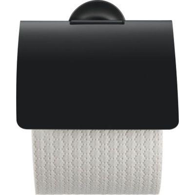 Duravit Starck T uchwyt na papier toaletowy ścienny czarny mat 0099404600
