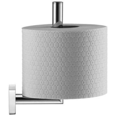 Duravit Karree uchwyt na papier toaletowy zapasowy ścienny chrom 0099561000