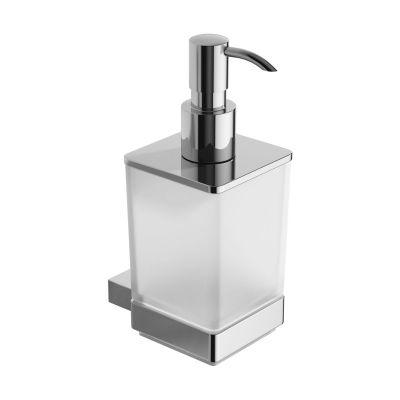 Excellent Riko dozownik do mydła szkło mrożone/chrom DOEX.1606CR