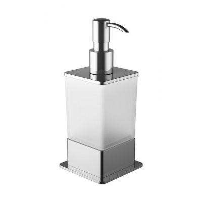 Excellent Riko dozownik do mydła szkło mrożone/chrom DOEX.1616CR