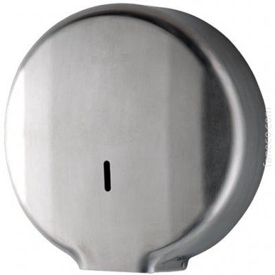 Faneco Geo pojemnik na papier toaletowy Jumbo stal nierdzewna mat LCO0207S