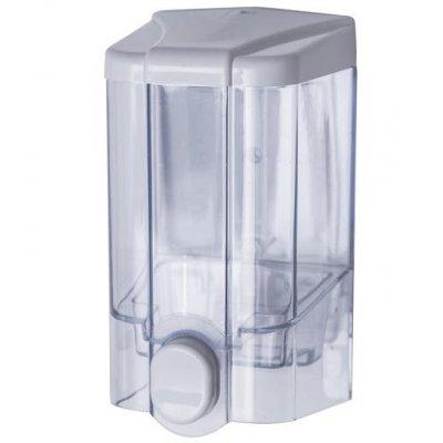 Faneco Jet dozownik do mydła biel/transparentny S1000PGWT