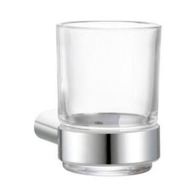 Frescor Leo uchwyt ze szklanką chrom / szkło bezbarwne 23.07.00