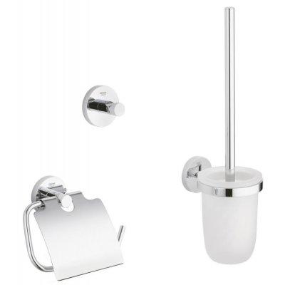 Grohe Essentials zestaw akcesoriów łazienkowych 3w1 Guest 40407001