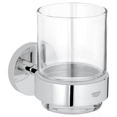 Grohe Essentials szklanka z uchwytem chrom 40447001