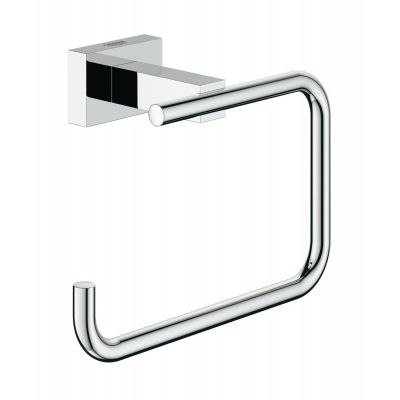 Grohe Essentials Cube uchwyt na papier toaletowy chrom 40507001